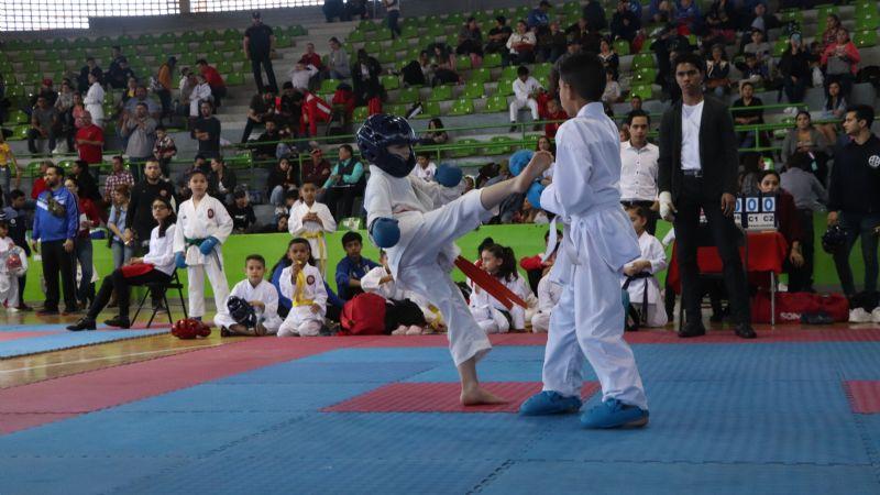Todo un éxito el torneo Estatal de Karate en Ciudad Obregón