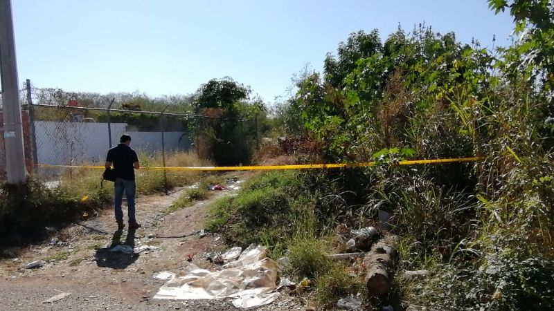 Macabro hallazgo: Encuentran cadáver abandonado en brecha de Culiacán