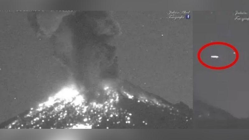 VIRAL: Grabación del Popocatépetl capta supuesta aparición de un ovni