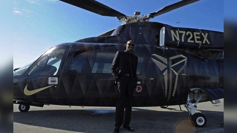 Sigue la incógnita por la muerte de Kobe Bryant; helicóptero no tenía caja negra
