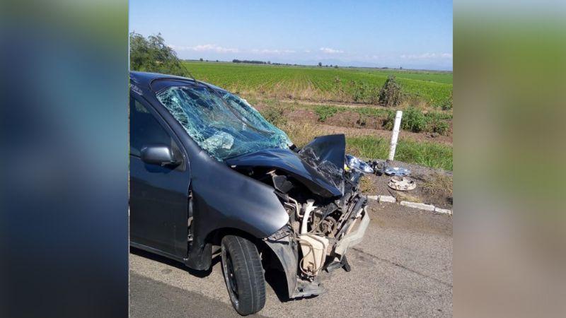 Joven se queda dormido al volante y sufre fatal volcadura en Angostura