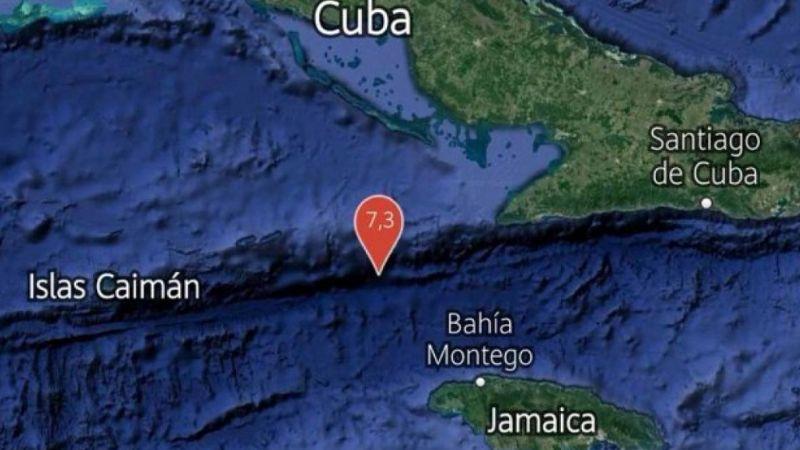 Tras sismo en Jamaica, una réplica de magnitud 6.5 'golpea' a Islas Caimán