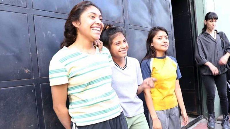 Tres niñas mexicanas podrían llevarse un Oscar por el cortometraje 'Saria'