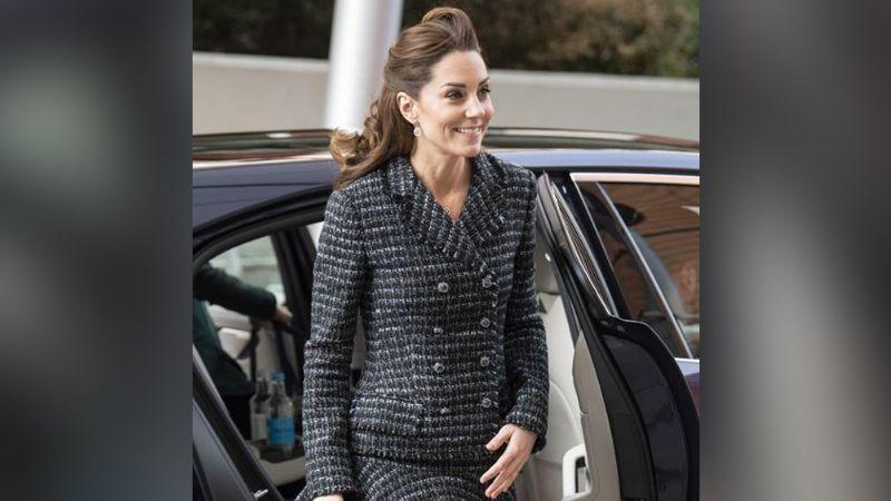 VIDEO: ¡Al estilo de Marylin Monroe! Viento levanta falda de Kate Middleton