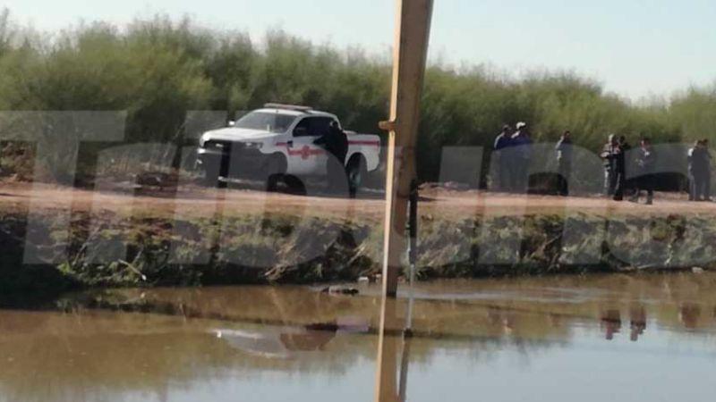 Encuentran el cuerpo del conductor de camioneta de jornaleros caída a canal