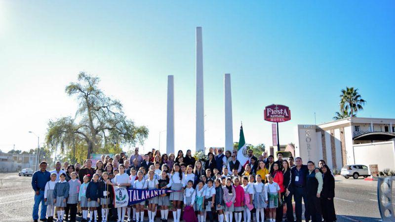 Gobierno navojoense conmemora proeza de los mártires de Sahuaripa