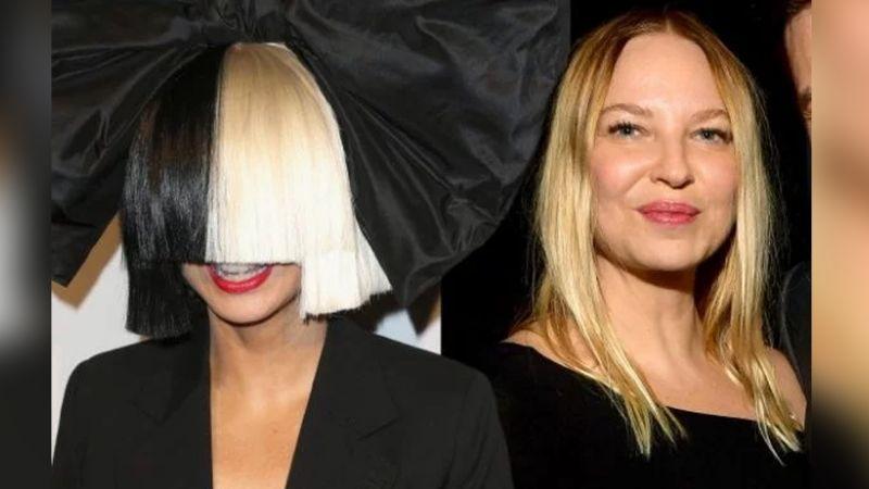 ¡Sorprendente! Sia se deja ver en un partido de baloncesto sin su peluca