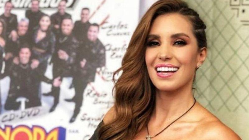 Andrea Escalona pone candente el inicio del 2020 con aleopardado bikini
