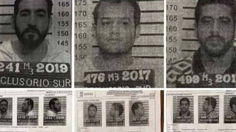 FOTOS: Así se habrían fugado los reos del Reclusorio Sur, ligados al 'Chapo'