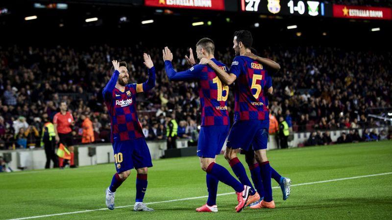Barcelona consigue los cuartos de la Copa del Rey con imponente marcador