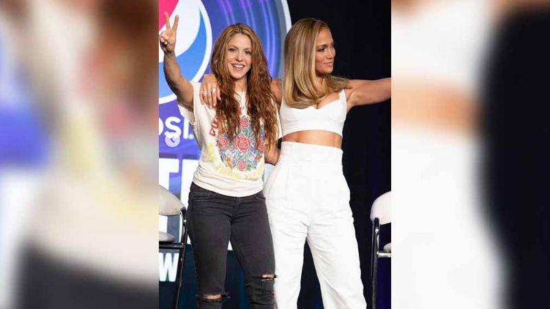 VIDEO: ¡Falta poco! Captan ensayo de JLo y Shakira para show del Super Bowl