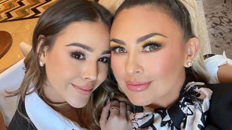 """Vuela alto mi niña"": Aracely Arámbula conmueve al despedirse de Danna Paola"