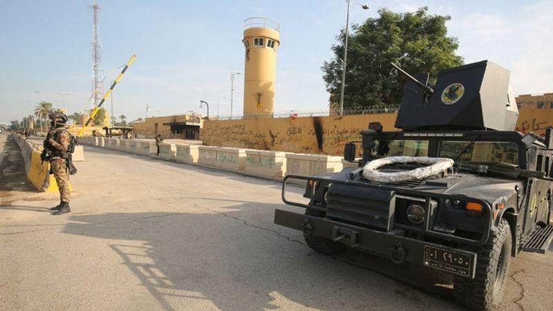 ¡Alerta! Caen proyectiles cerca de la Embajada de Estados Unidos en Bagdad