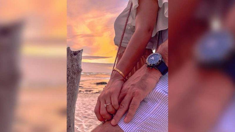VIDEO: Tras repentina ruptura, Carlos Ponce y Karina Banda se comprometen