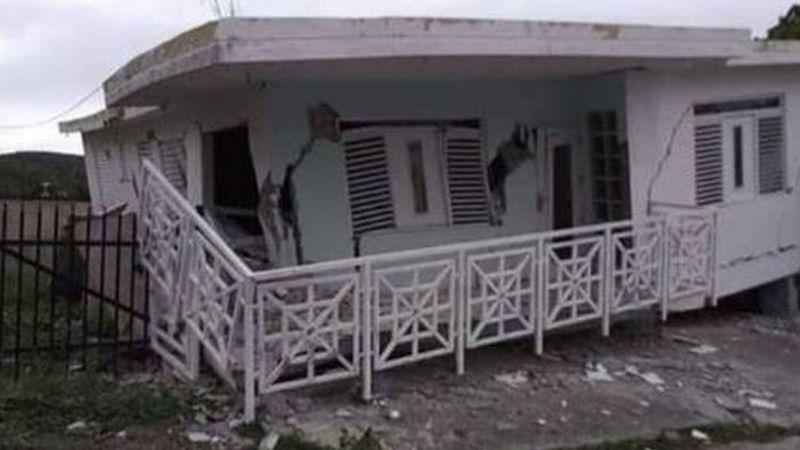 (VIDEO) Alerta en Puerto Rico: Sismo causa colapso de casas y cortes de luz