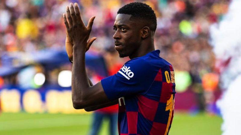 El gesto de Dembelé que provoca una ola de ira entre los hinchas del Barcelona