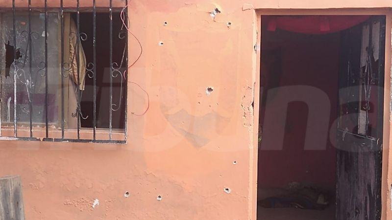 Enero sin paz: Sicarios rafaguean fachada de domicilio con armas largas