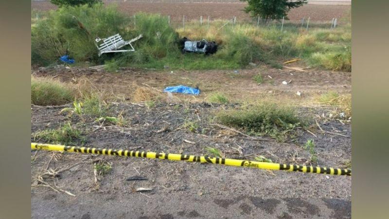 Cuatro personas pierden la vida en un fatal accidente sobre la México 15
