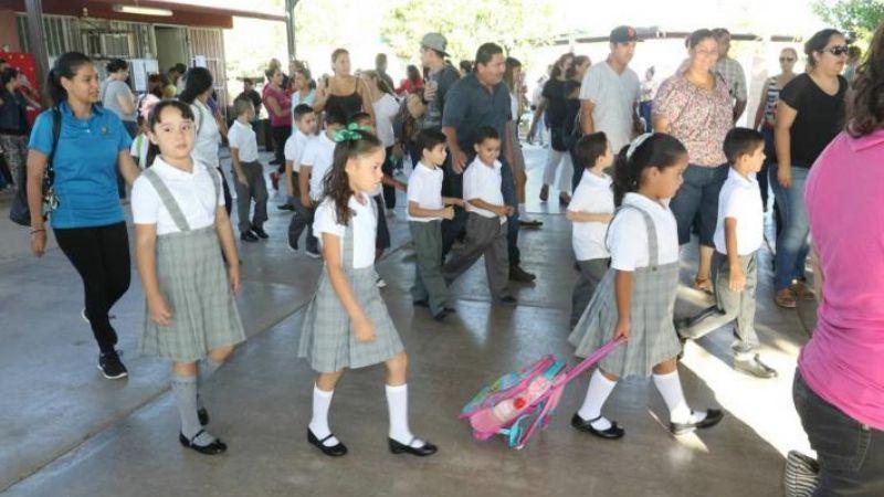 En el sur de Sonora regresan a clases 64 mil alumnos de educación básica