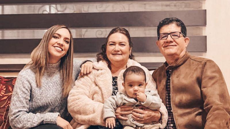 Los integrantes de la parentela Wong Pérez recibieron  la nueva década