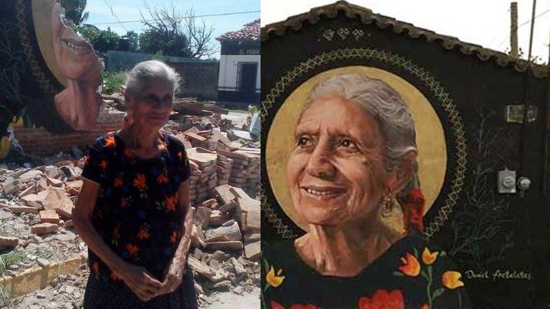 Muere 'Na Rosita', mujer emblema de la reconstrucción por sismo en Oaxaca