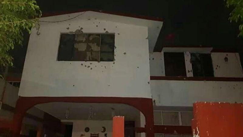 Noche de terror en Tamaulipas: Balaceras, bloqueos y un sicario abatido