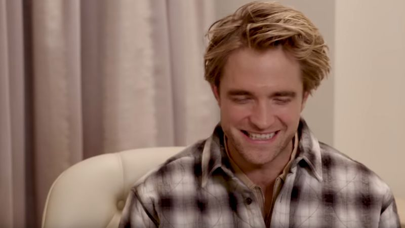 Robert Pattinson revela por qué aceptó ser 'Bruce Wayne' en 'The Batman'