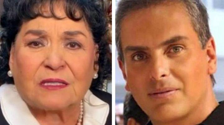 """Carmen Salinas dedica triste mensaje a Xavier Ortiz: """"Lo quería como a un hijo"""""""