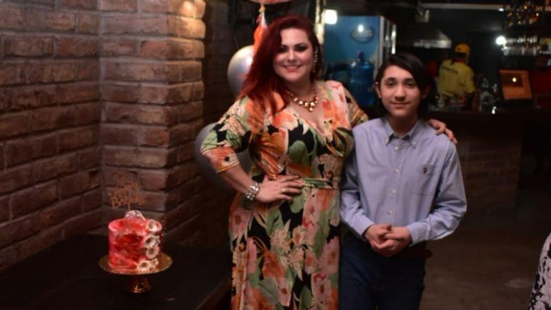 Sarita Rodríguez celebra un año más de vida al lado de su familia