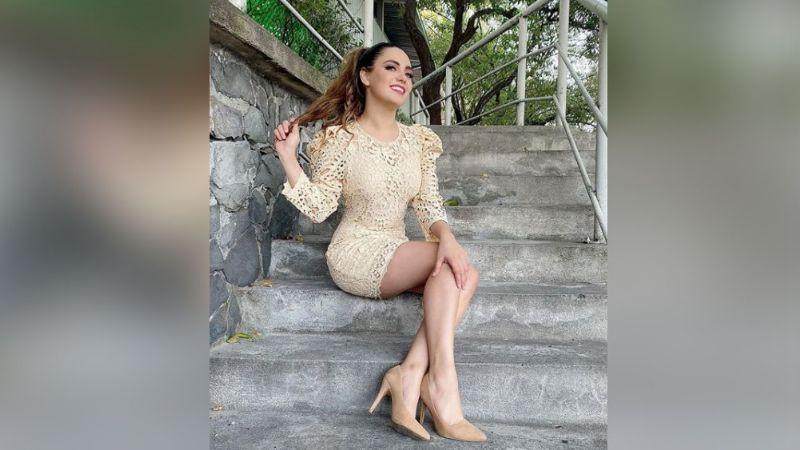 ¿Y la dieta? Tania Gómez olvida ser 'Chica del Clima' y muestra su 'lonjita' en la naturaleza