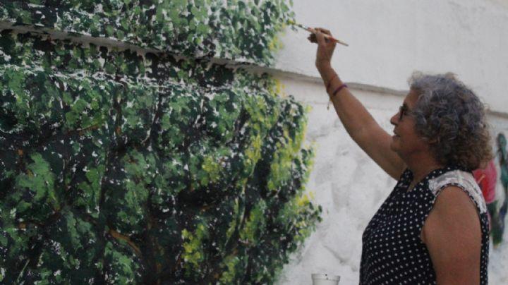 Colibríes y mariposas de Juanita Márquez en la ciudad