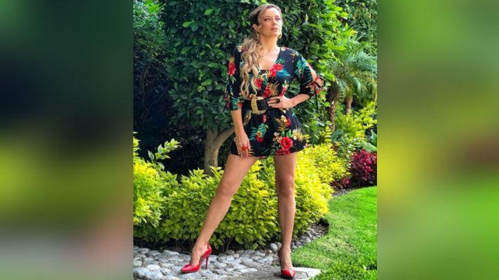 A sus 42 años, Karla Gómez, conductora de Telvisa, luce como de 20 con enloquecedor traje