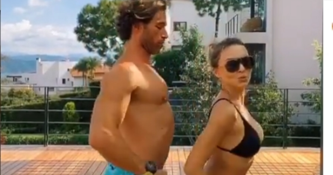 Sebastián Rulli y Angelique Boyer, actores