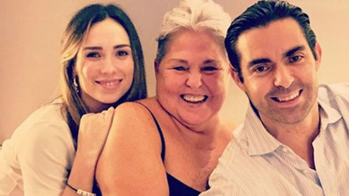 Nuera de Lupita D'Alessio estalla ante los rumores y niega haberla contagiado de Covid-19