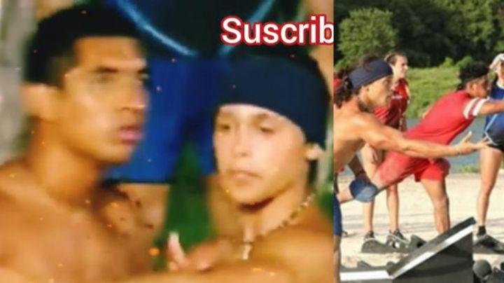 Tensión en 'Exatlón': Heliud Pulido y Ernesto Cázares se pelean a empujones e insultos