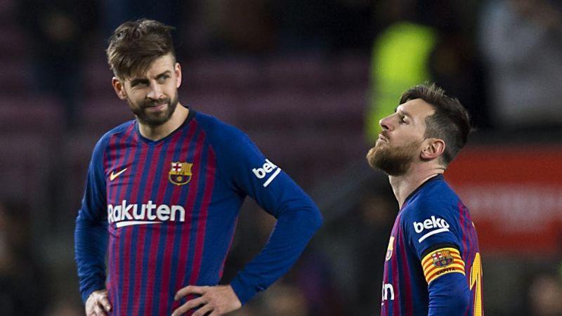 Barcelona, dividido por tema salarial: Piqué acepta reducir su sueldo y Messi se niega