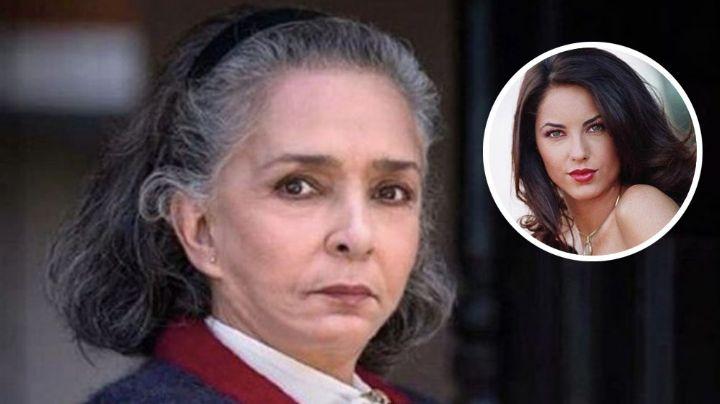 Ana Martín recuerda cuando conoció a Bárbara Mori para la telenovela 'Rubí'