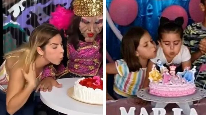 "Karla Panini es blanco de críticas tras parodiar video viral: ""Le sale natural"""