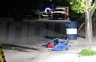 Noche violenta en Cajeme: Sicarios matan a disparos a joven ciclista