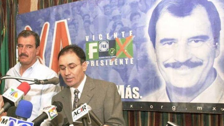 """Alfonso Durazo estalla contra Vicente Fox; el expresidente lo llama """"inútil y descalificado"""""""