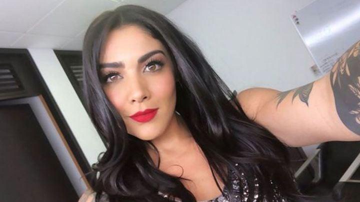 Érika Fernández roba corazones al pasear por los pasillos de Fox Sports