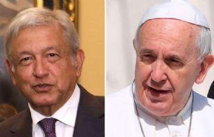"""AMLO: """"El Papa me mandó decir con Beatriz que vamos bien, que no me canse"""""""