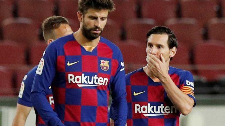 """Piqué por fin apoya a Messi: """"Leo se lo merece todo;  estadio nuevo debe llevar su nombre"""""""