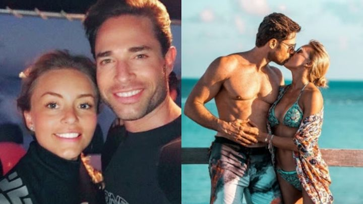 Desde la piscina, Sebastián Rulli y Angelique Boyer presumen su increíble  bronceado