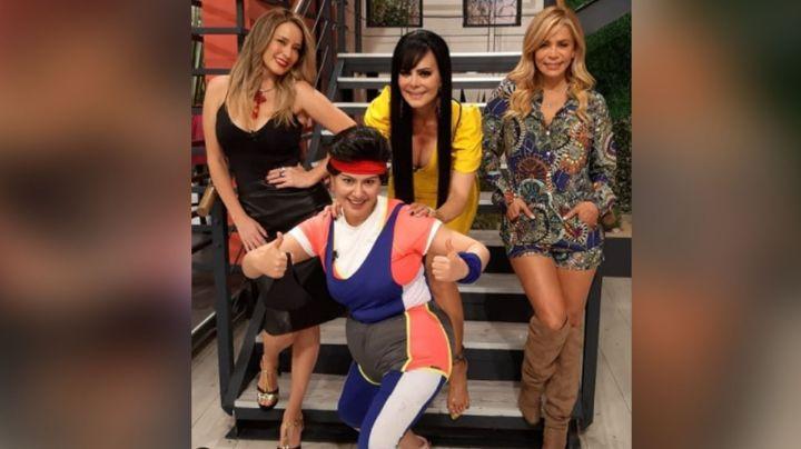Maribel Guardia pone a vibrar Televisa al aparecer con estas bellezas en 'Hoy'