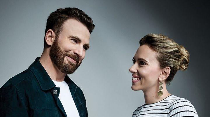 Chris Evans supera engaño de Lily James con su compañera Scarlett Johansson y la llama hermosa