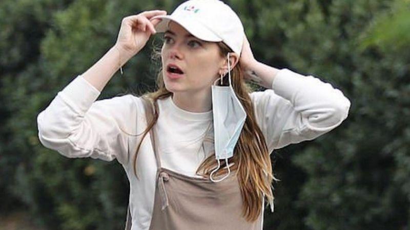Emma Stone: Nuevas fotografías revelan que se encuentra en la espera de su primer hijo