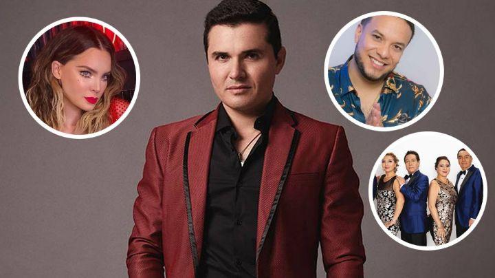 Horacio Palencia revela que trabajará con Belinda, Los Ángeles Azules y hasta Lorenzo Méndez