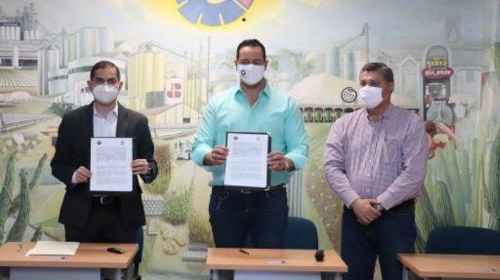 Canacintra firma convenio con fiscal especializado en delitos electorales