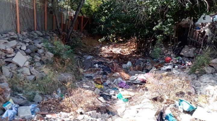 Acumulación de basura en canales de la ciudad, cuento de nunca acabar